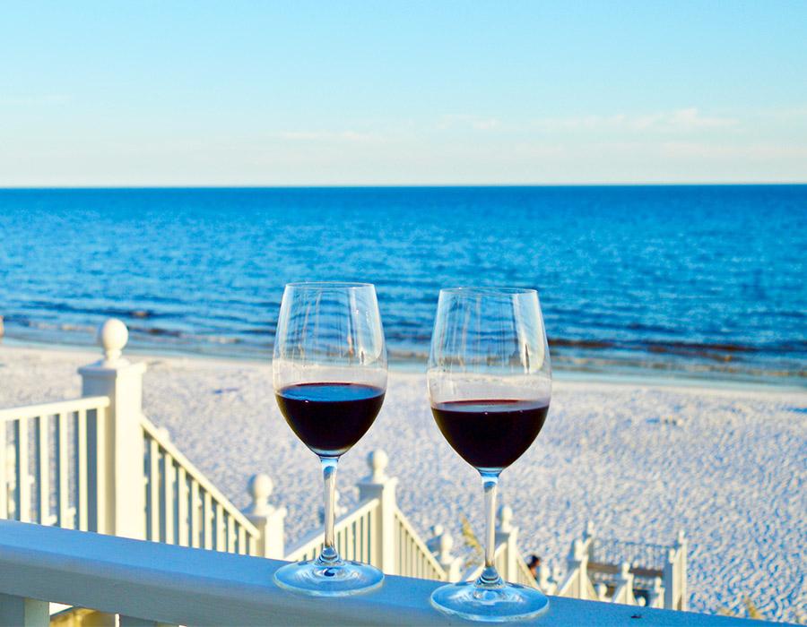 Seaside Seeing Red Wine Weekend Giveaway
