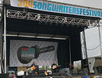 30A Songwriter's Festival in Seaside, Florida