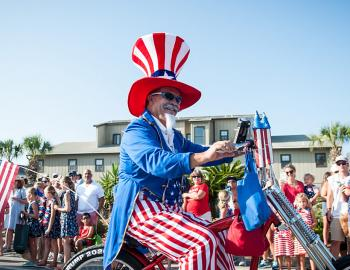 Seaside FL Annual Fourth of July Parade