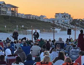 Easter Sunday Services in Seaside, Florida