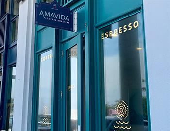Amavida Coffee in Seaside, Florida