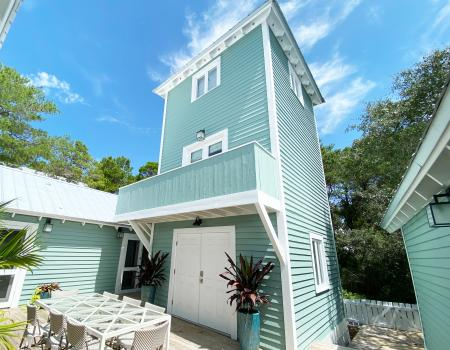 Craig's Carriage House cottage in Seaside, Florida