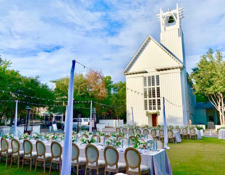 Seaside Chapel Courtyard & Lawn