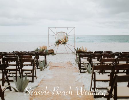 Seaside FL Beach Wedding