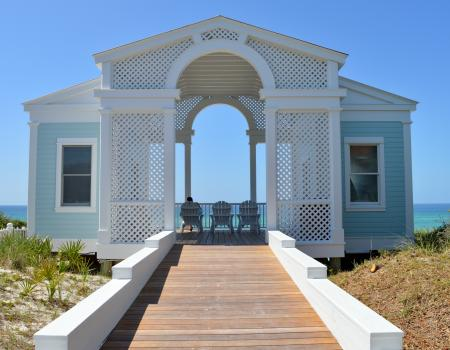 Tupelo Wedding Pavilion Seaside FL