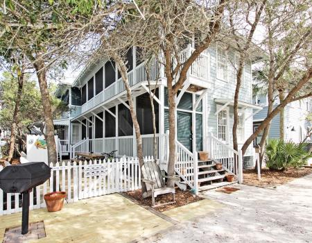 Sandy Toes cottages in Seaside, Florida