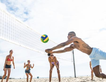 Seaside FL Concierge Services Beach Games and Water Sports Volleyball