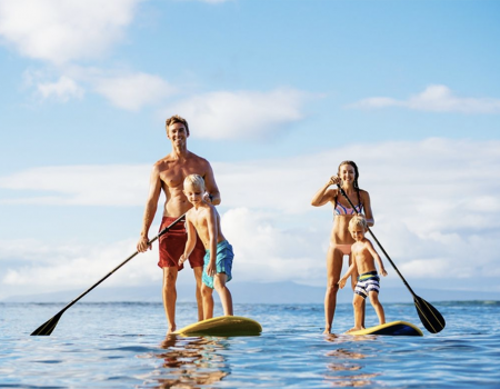 Seaside FL Concierge Services Beach Games and Water Sports Paddleboard