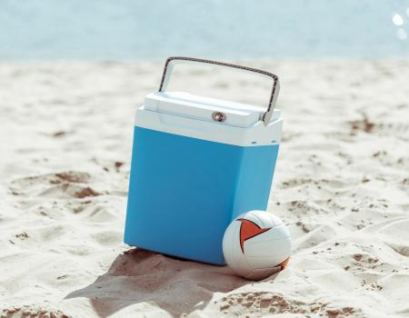 Seaside FL Concierge Services Beach Games and Water Sports Cooler Volleyball