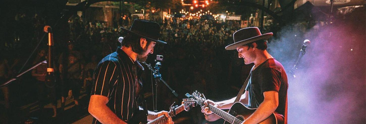 The Talbott Brothers Concert in Seaisde, Florida
