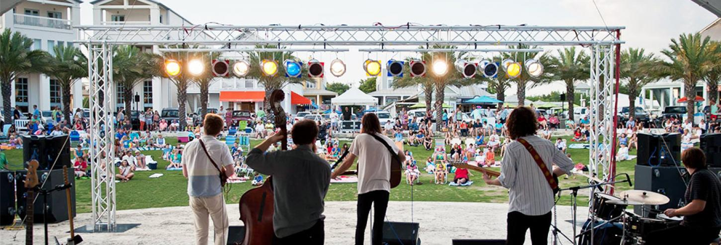 Seaside summer concert series
