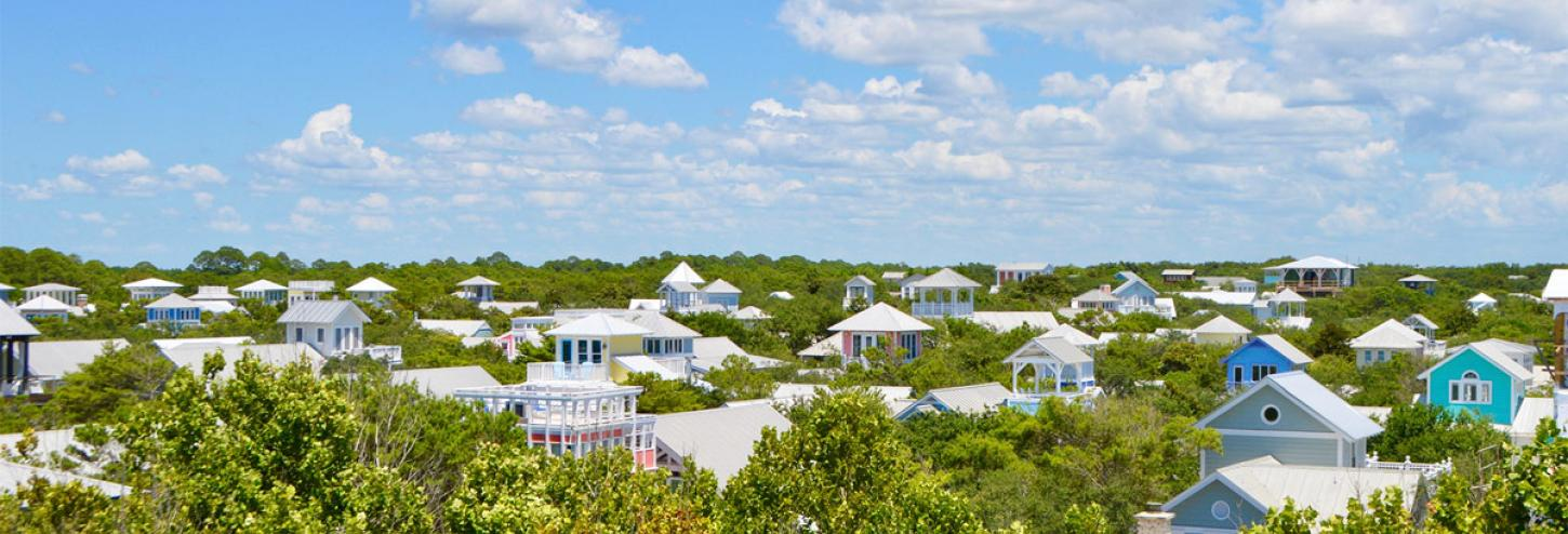 Seaside, Florida cottages on the SeasideFL map