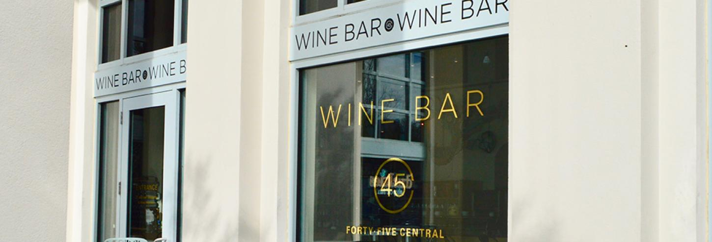 45 Central Wine & Sushi Bar