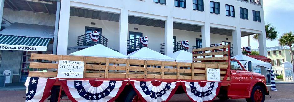 4th of July in Seaside, Florida