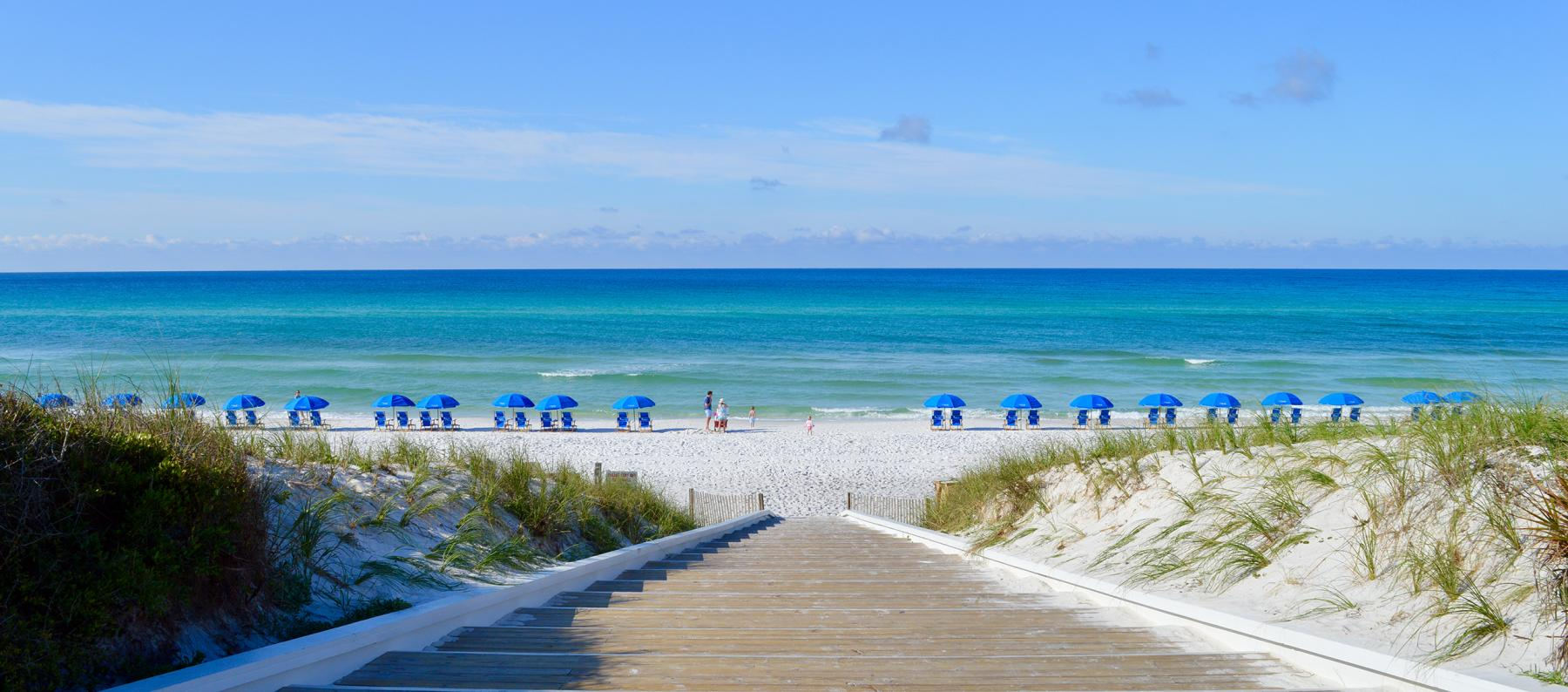 Seaside FL Steps to Ocean