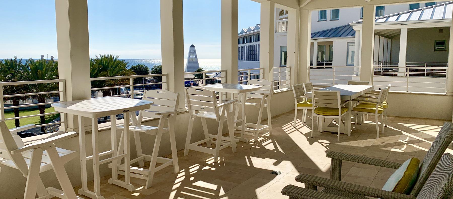 Seaside FL Far Niente Porch