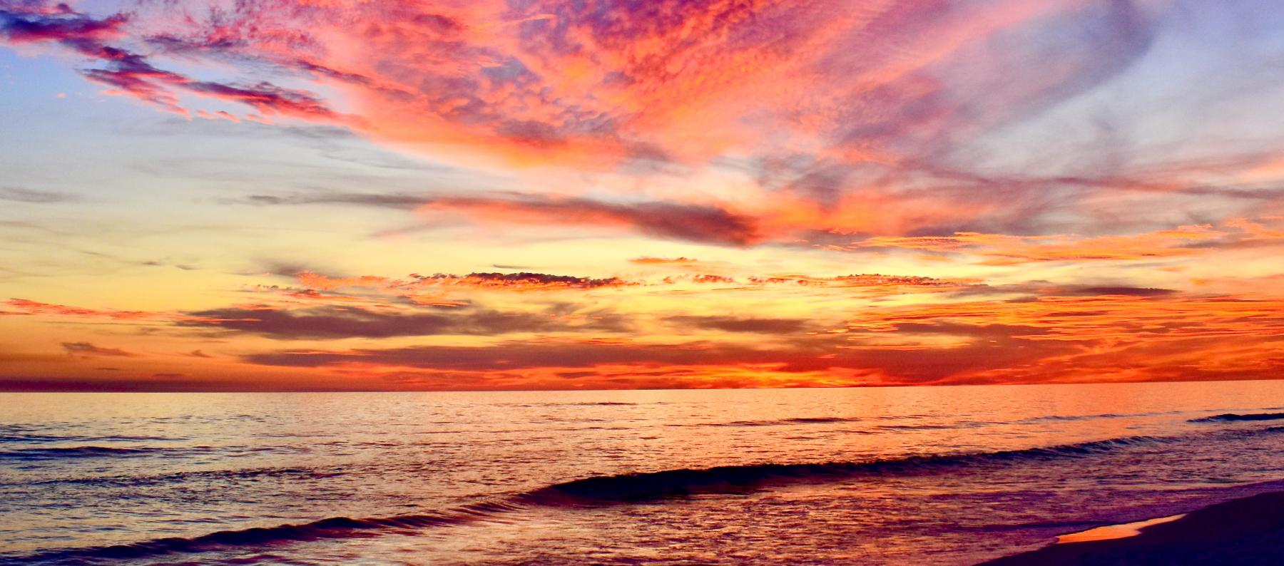 Fall in Seaside, Florida