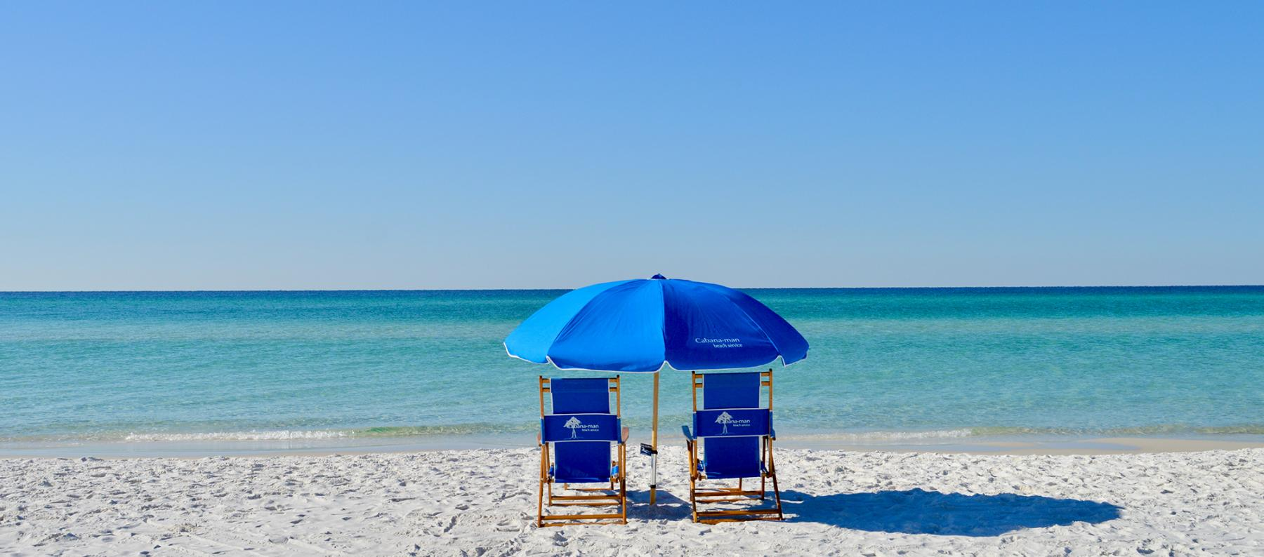Seaside FL Concierge Services - Beach Chairs