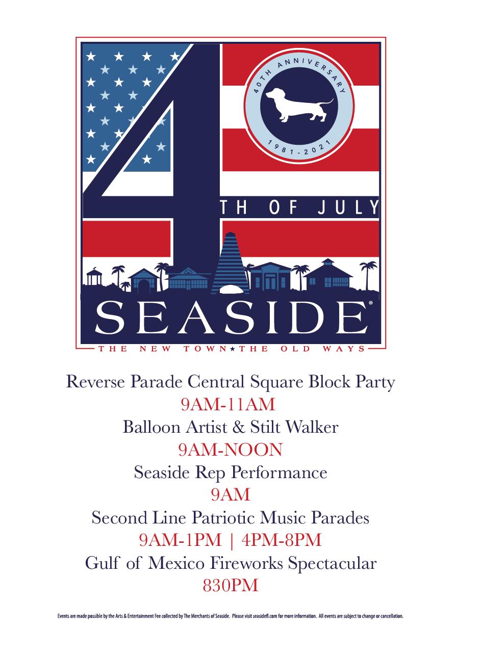 Seaside 4th of July 2021